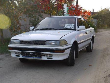 Toyota Corolla FX 1988 - отзыв владельца