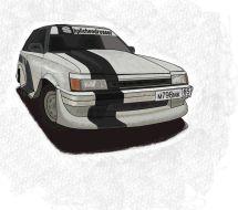 Toyota Corolla II, 1986
