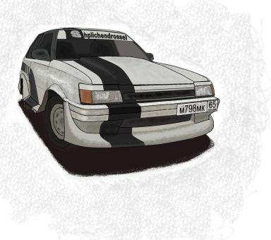 Toyota Corolla II 1986 отзыв автора | Дата публикации 15.03.2012.