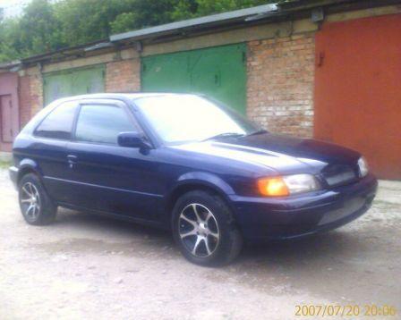 Toyota Corolla II 1996 - отзыв владельца