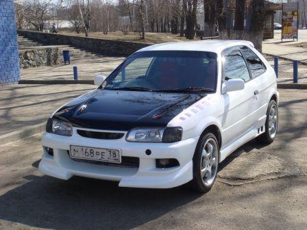 Toyota Corolla II 1999 - отзыв владельца