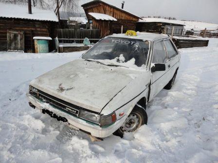 Toyota Corolla II 1988 - отзыв владельца