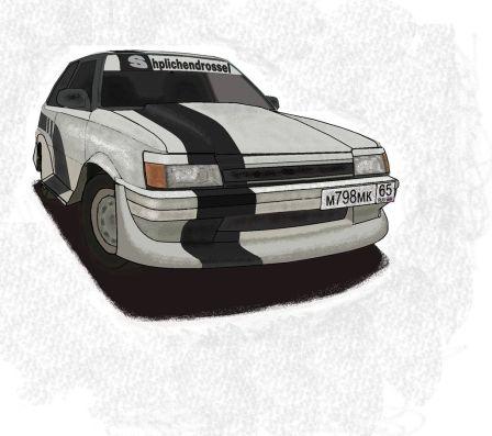 Toyota Corolla II 1986 - отзыв владельца