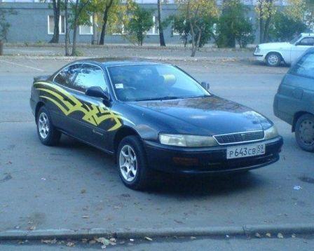 Toyota Corolla Levin 1995 - отзыв владельца