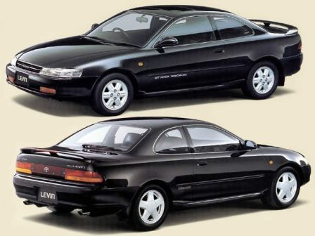 Toyota Corolla Levin 1991 - отзыв владельца