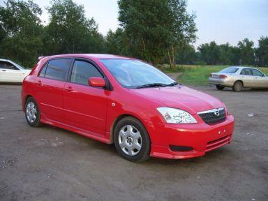 Toyota Corolla Runx 2003 отзыв автора | Дата публикации 17.12.2007.