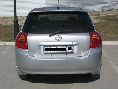 Toyota Corolla Runx 2001 отзыв автора   Дата публикации 11.05.2008.