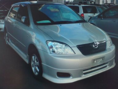Toyota Corolla Runx 2003 отзыв автора | Дата публикации 25.10.2008.