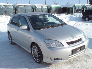 Toyota Corolla Runx 2003 отзыв автора | Дата публикации 30.03.2009.