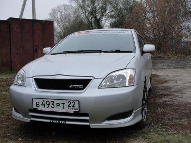 Toyota Corolla Runx 2003 отзыв автора | Дата публикации 21.01.2010.