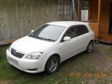 Toyota Corolla Runx 2003 отзыв автора | Дата публикации 13.03.2013.