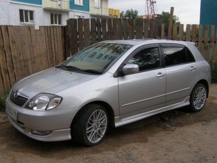 Toyota Corolla Runx 2002 - отзыв владельца