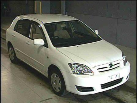 Toyota Corolla Runx 2005 - отзыв владельца