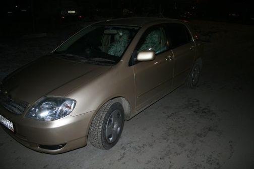 Toyota Corolla Runx 2001 - отзыв владельца