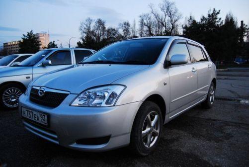 Toyota Corolla Runx 2003 - отзыв владельца