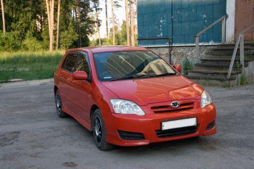Toyota Corolla Runx 2006 - отзыв владельца