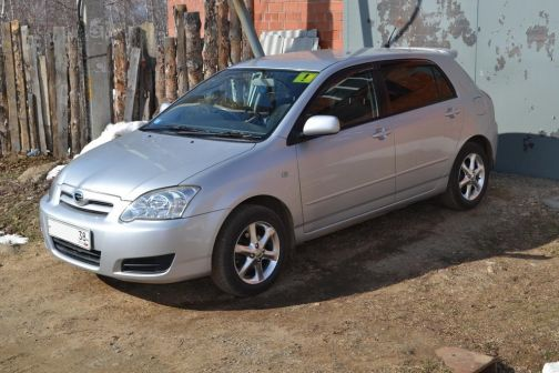 Toyota Corolla Runx  - отзыв владельца