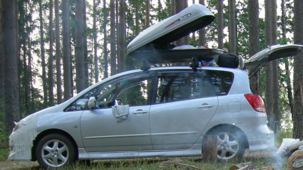 Toyota Corolla Spacio 2005 - отзыв владельца