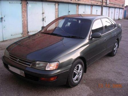 Toyota Corona SF 1992 - отзыв владельца