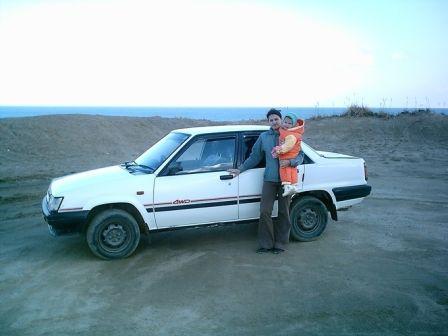 Toyota Corsa 1987 - отзыв владельца