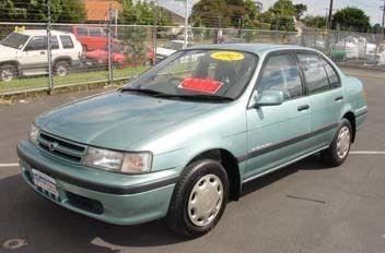 Toyota Corsa 1991 - отзыв владельца