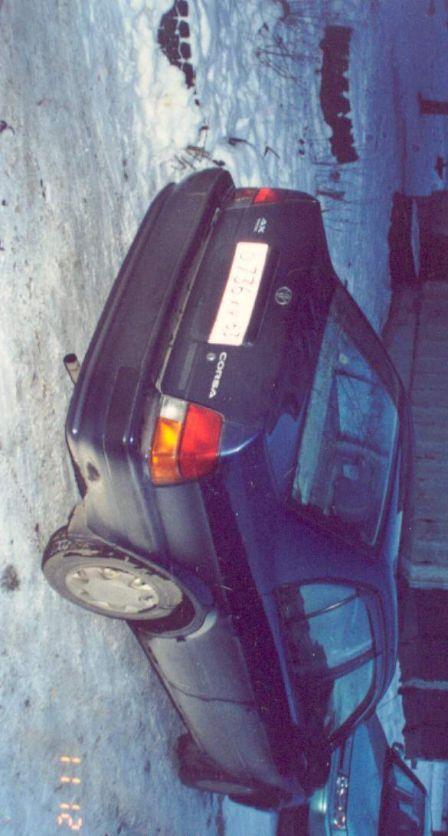 Toyota Corsa 1995 - отзыв владельца