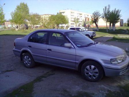 Toyota Corsa 1998 - отзыв владельца