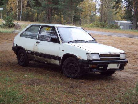 Toyota Corsa 1986 - отзыв владельца