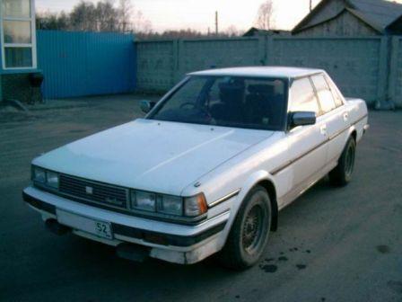 Toyota Cresta 1986 - отзыв владельца