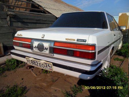 Toyota Cresta 1987 - отзыв владельца