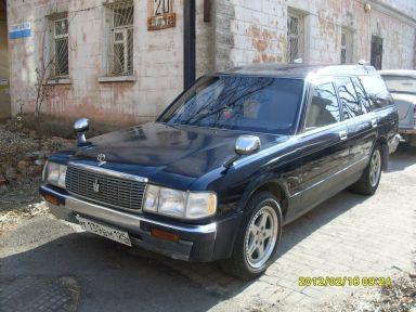 Toyota Crown 1994 отзыв автора | Дата публикации 01.04.2012.