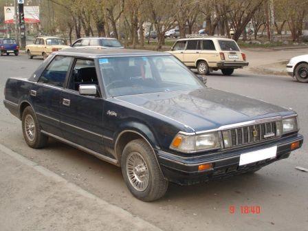 Toyota Crown 1985 - отзыв владельца