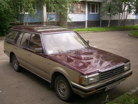 Toyota Crown 1984 - отзыв владельца