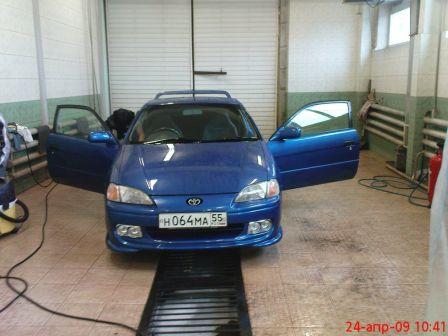 Toyota Cynos 1998 - отзыв владельца