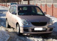 Toyota Duet, 2002
