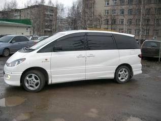 Toyota Estima 2002 - отзыв владельца
