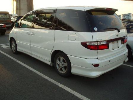 Toyota Estima 2001 - отзыв владельца