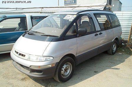 Toyota Estima Emina 1993 - отзыв владельца