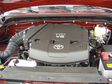 Toyota FJ Cruiser, 2008
