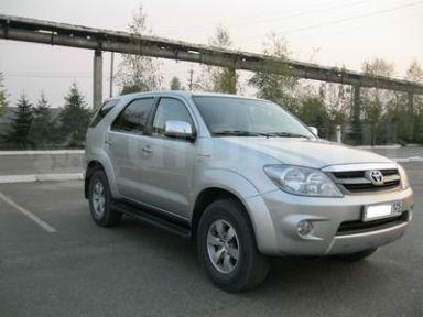 Toyota Fortuner 2006 отзыв автора | Дата публикации 29.12.2012.