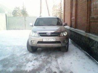 Toyota Fortuner 2008 - отзыв владельца