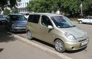 Toyota Funcargo 2002 отзыв автора | Дата публикации 30.11.2008.