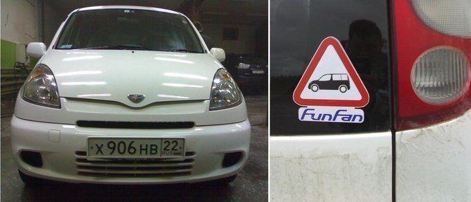 Toyota Funcargo 1999 - отзыв владельца