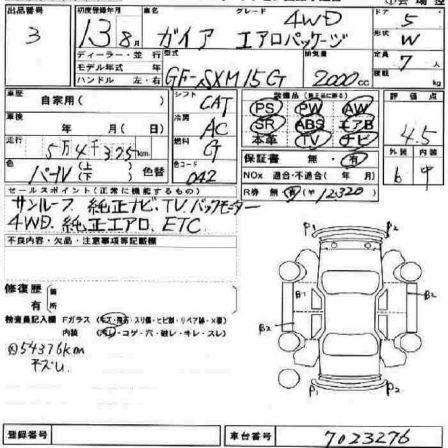 Toyota Gaia 2001 - отзыв владельца