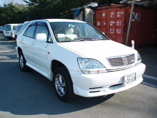 toyota harrier 2002 отзывы