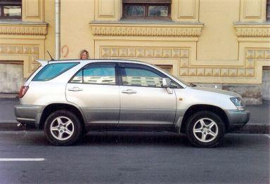 Toyota Harrier 1998 отзыв автора | Дата публикации 24.04.2006.