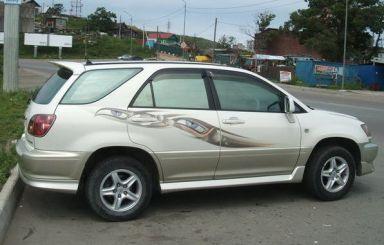 Toyota Harrier 1998 отзыв автора | Дата публикации 17.04.2012.
