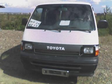 Toyota Hiace 1990 отзыв автора | Дата публикации 23.06.2007.
