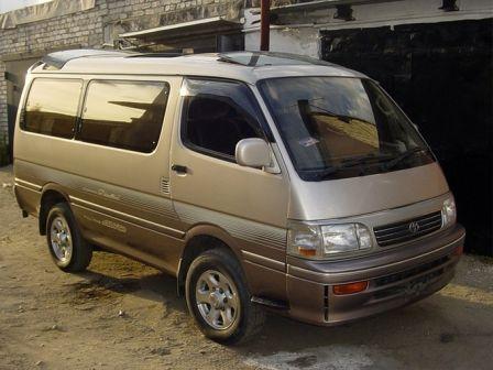 Toyota Hiace 1994 - отзыв владельца