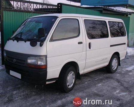 Toyota Hiace 2000 - отзыв владельца